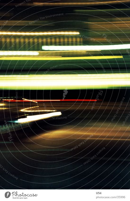 scratch Light Night Diffuse Obscure abstraction Street Car Blur