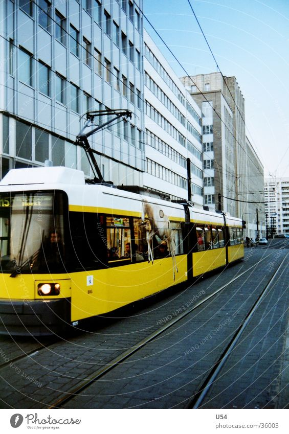 Sky Sun House (Residential Structure) Berlin Movement Transport Mobility Tram