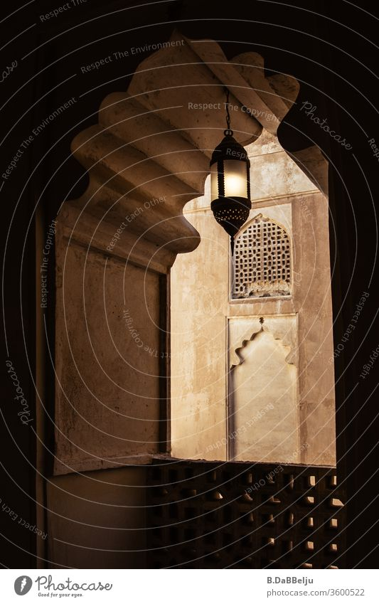 The oriental lamp has been illuminating the dark corridors of the palace for a long time. Oman travel Desert Adventure Vacation & Travel Far-off places