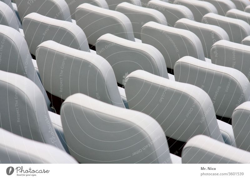 VIP seats Seat Seating Row of seats Free Places Empty Seating capacity folding seat Folding chair tribune Structures and shapes Lecture hall Movie theater seat