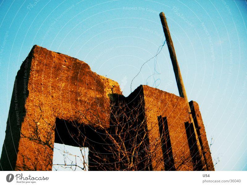 concrete #1 Ruin House (Residential Structure) War Concrete Architecture Attic Sky