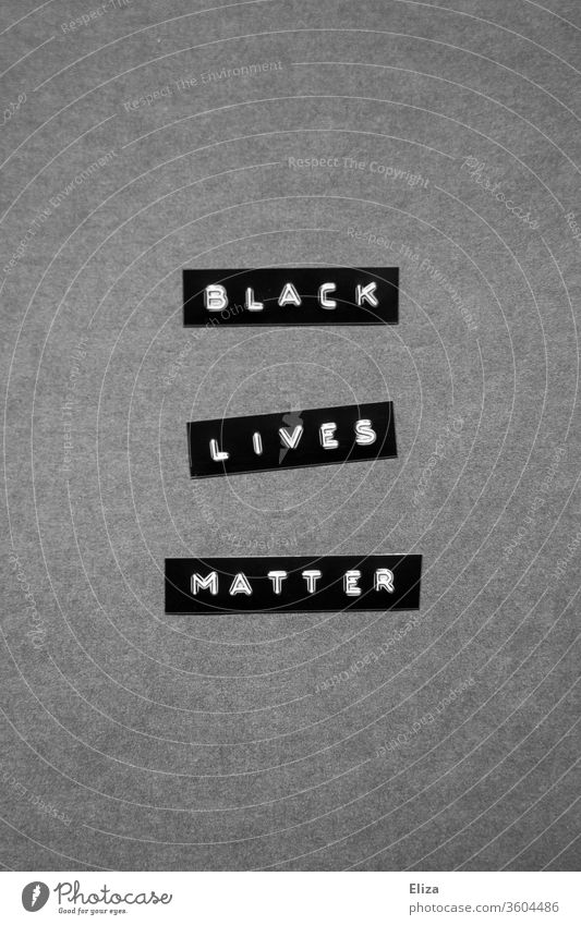 Black Lives Matter. Solidarity. Racism. Protests. protests demonstrations authored words Responsibility Text Gray black live duller Demonstration Communicate