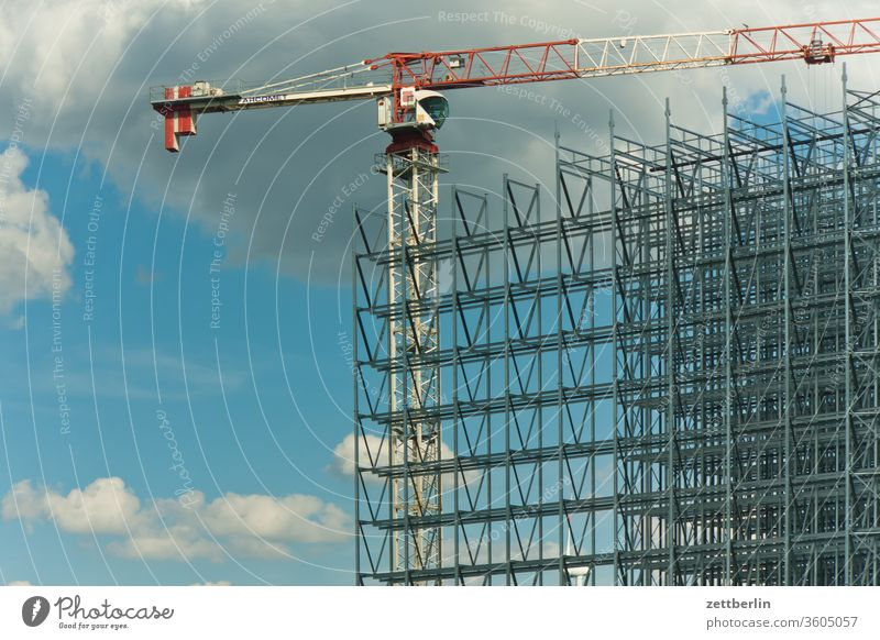 Construction site again Structural engineering work construction Scaffold Scaffolding engineering construction Crane Metal Armour Steel Aspire