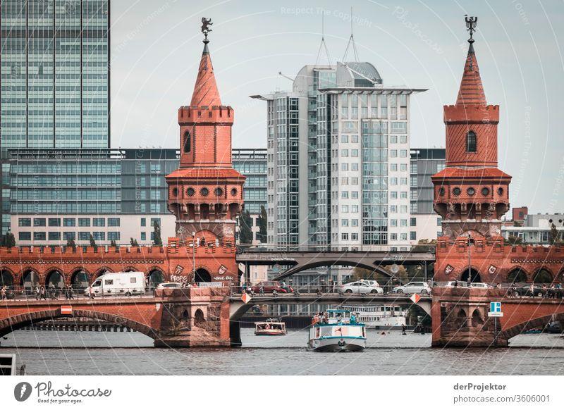 Oberbaum Bridge on the Spree in Berlin #berlinerwasser Berlin water utilities theProjector the projectors farys Joerg farys ngo ngo photographer
