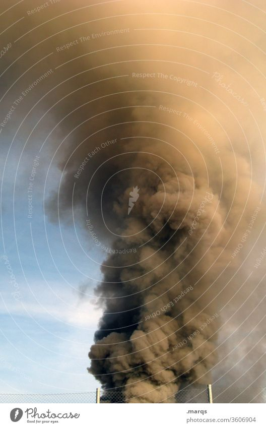 clouds of smoke Panic Fear Environmental pollution Climate change Poison Sky Burn Emergency Exhaust gas Fire Blaze Smoke Alarm smoke damage cataclysm