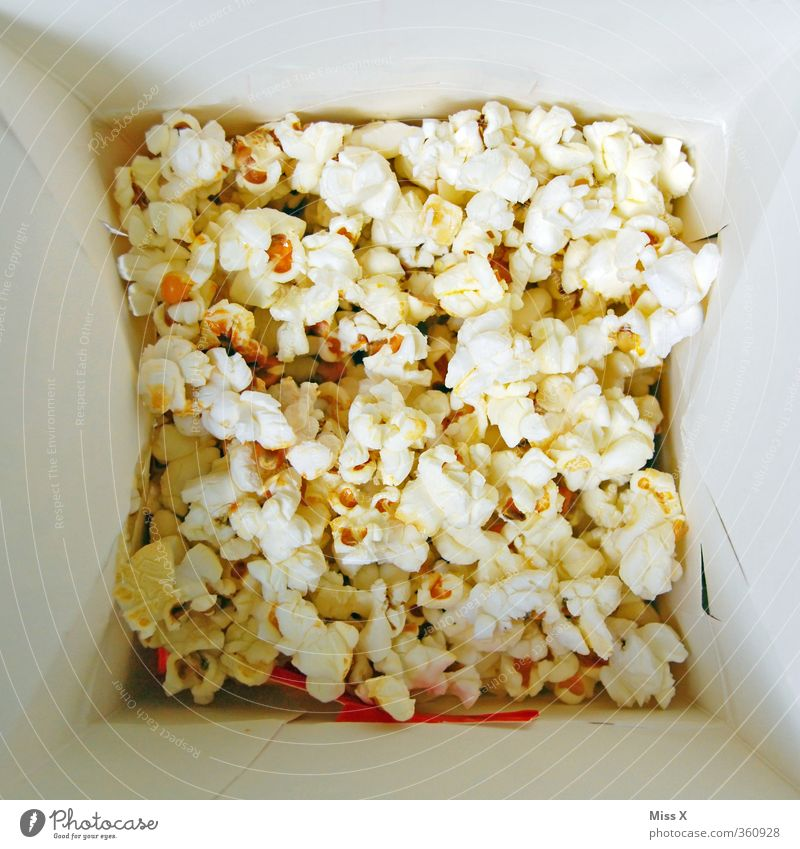 PopCorn Food Candy Nutrition Fast food Bowl Feasts & Celebrations Delicious Sweet Unhealthy Popcorn Maize Grain Cinema Food photograph Colour photo Close-up