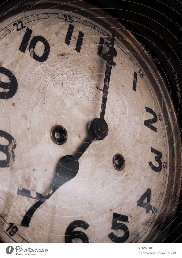 Old Time Future Clock Digits and numbers Living or residing Meeting Past Ancient Backward 7 Date Stagnating Afternoon Midday 19