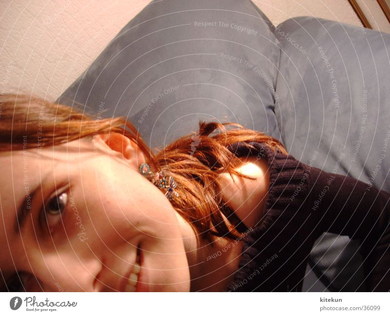 Woman Girl Joy Eyes Laughter Hair and hairstyles Teeth