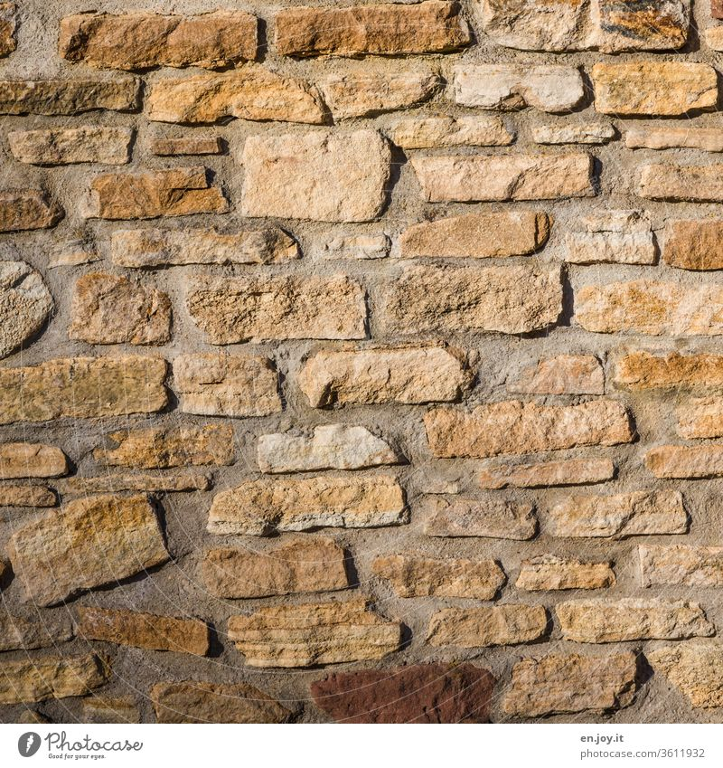 Old | beautiful old wall Wall (barrier) masonry Brick Brick wall Brick facade City wall Wall (building) Structures and shapes Stone Pattern Facade Colour photo