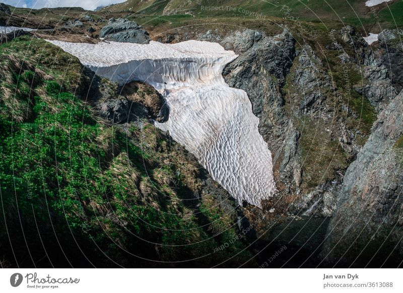 Glacier at Septimerpass Glacier Death Snow Ice mountain Global warming fridays for future