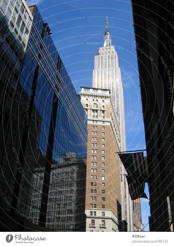 New York streets 2 New York City Town Architecture Street Big City Empirestate Building