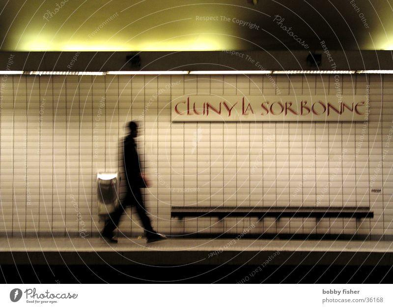 sorbonne Underground Paris Architecture Human being Shadow Fear Walking