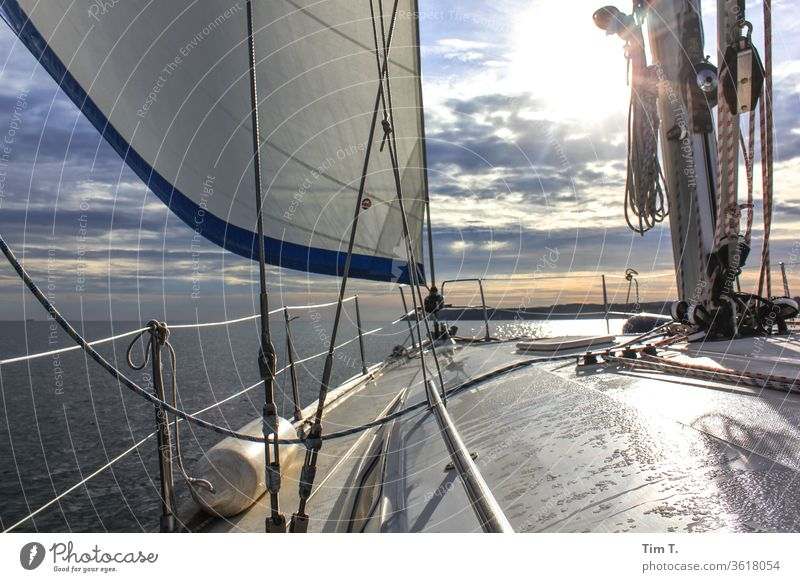 Weather ok Sailing ship Watercraft Ocean Sailboat Navigation Exterior shot Colour photo Deserted Boating trip Vacation & Travel Day Summer Yacht Adventure