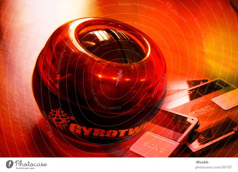 gyrotwister Red Physics Leisure and hobbies Ball MD Warmth Blaze Sphere cassette