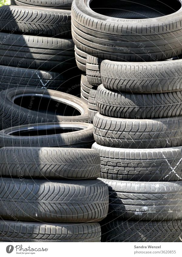 Car Tyres Car tire Tire winter tyres summer tyre storage Storage Workshop tyre change Rubber tires vulcanize scrap tyres Special waste Disposal Recycling