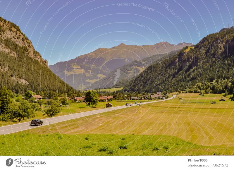 Austrian countryside adorable alpine alps austria austrian background beautiful beauty in nature blue clouds color image dolomites famous place field forest