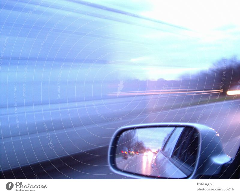 Street Movement Car Transport Speed Crazy Mirror Racing sports Truck Alcohol-fueled Silver Traffic jam Country road Transfer Car race