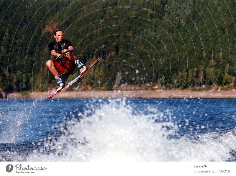 Water Sports Jump Watercraft Waves Speed Funsport Reservoir