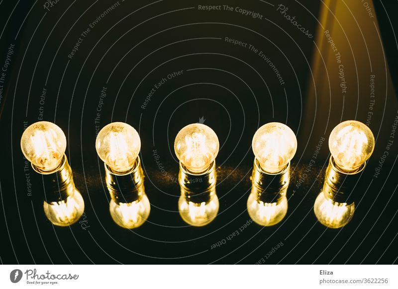 Lamp consisting of luminous bulbs on a mirror Light bulbs luminescent showbusiness Electric bulb Illuminate ideas Mirror Lighting electricity wardrobe Idea