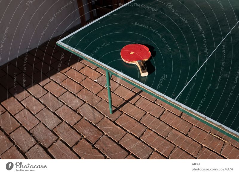 table tennis / break / 2:2 / fifth set Table tennis Table tennis bat Table tennis table Leisure and hobbies Playing Sports Break Changeover concentric