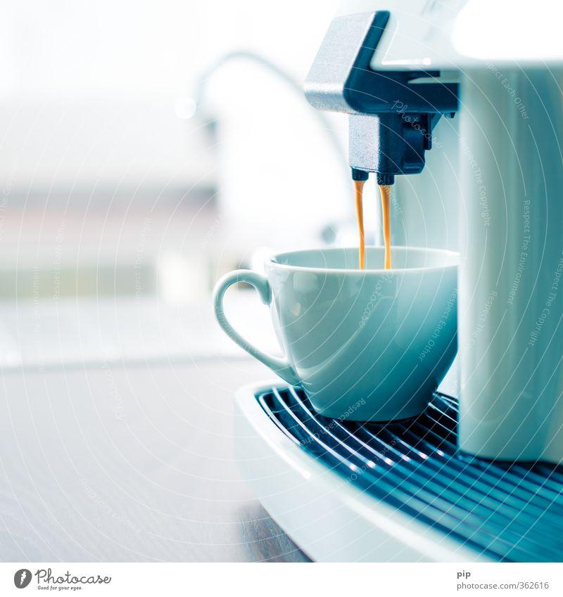 Good morning Coffee Latte macchiato Espresso Cup Coffee maker fully automatic coffee maker Fresh Hot Bright Clean Warmth Brown Contentment Anticipation