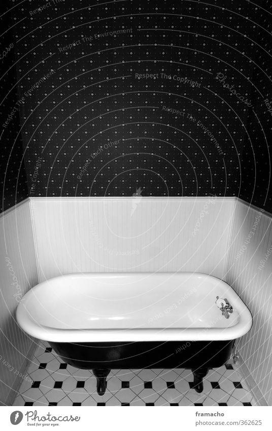bath Elegant Style Calm Living or residing Flat (apartment) Room Bathroom Bathtub Swimming & Bathing Old Esthetic Exceptional Simple Uniqueness Small Retro