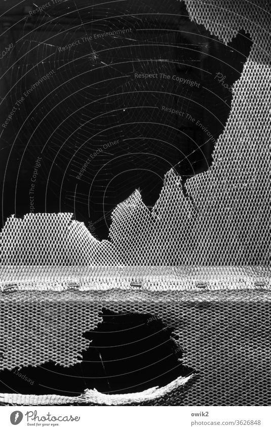 Los Glaciares Window Grating Old Passage Bizarre conceit Detail shattered remnants Decline Transience Facade Destruction Broken defective Exterior shot