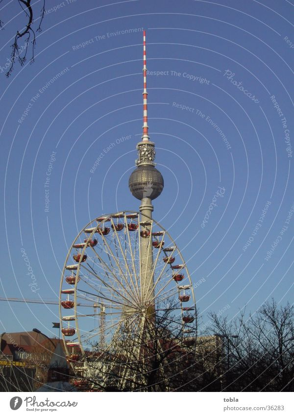 Architecture Ferris wheel Alexanderplatz