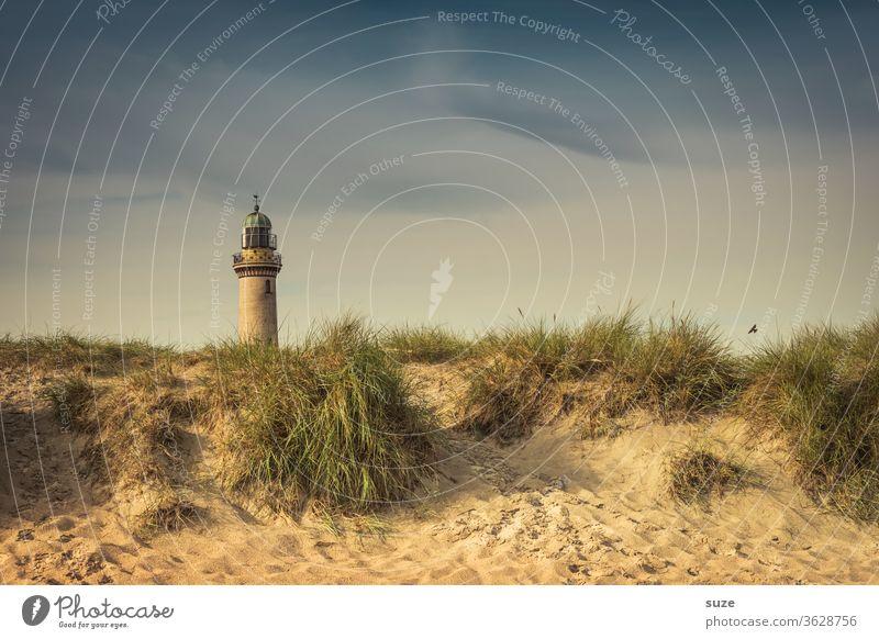 Lighthouse Warnemünde - chocolate side Vacation & Travel Tourism Sightseeing Sky Rostock Germany Mecklenburg-Western Pomerania Warnemünder Teapot Historic