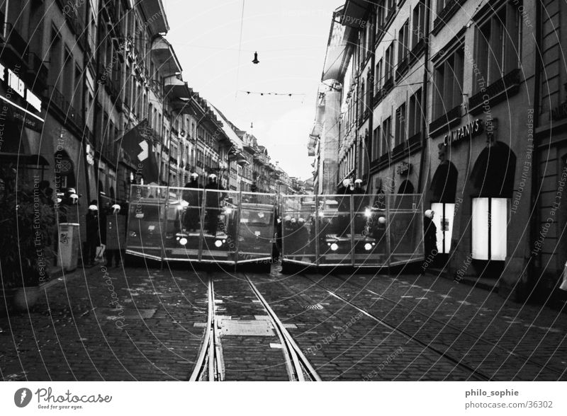 Street Car Black & white photo Police Officer Demonstration