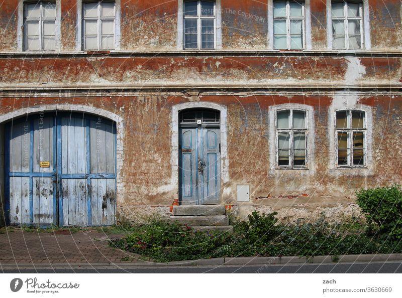7 days through Brandenburg - the charm of the Maroden House (Residential Structure) Old Broken Decline Ruin built Destruction Wall (barrier) Facade Past