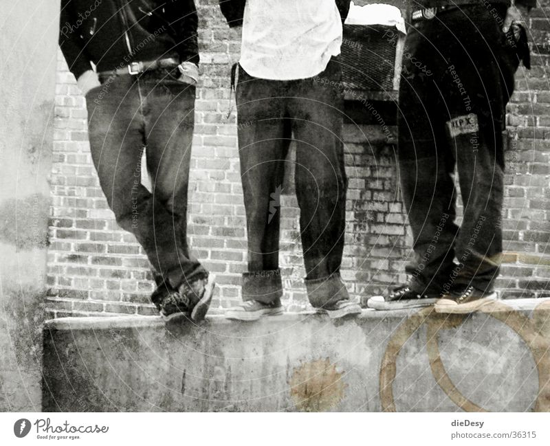Old school punks Old-school Paddle Group Punk Rock music Chucks black/white photography Black & white photo