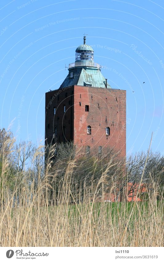 old | Lighthouse of Neuwerk defence tower Beacon Boarding house viewing platform Navigation Landmark Island outlook Monument Orientation Massive Meadow grasses