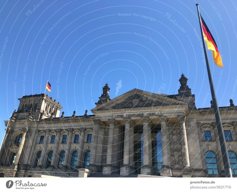 Reichstag building in Berlin / Photo: Alexander Hauk policy built Architecture Parliament Company Economy representation of interests lobbyists