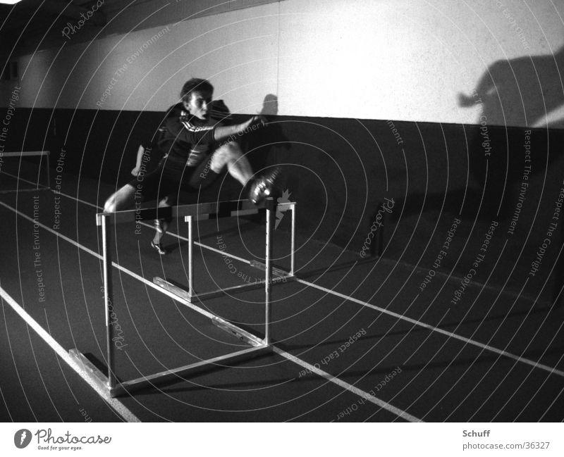 Athletics Hurdles Track and Field Hurdle run Sprinter Sports Movement Warehouse Speed