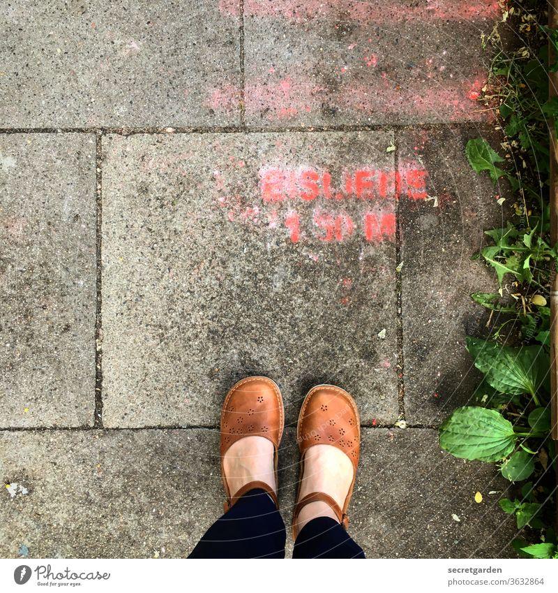 Four scoops of ice cream with cream please! Ice foot Footwear Fashion Paving stone wayside Lanes & trails Sidewalk Graffiti mark Word Chalk chalk writing Weed
