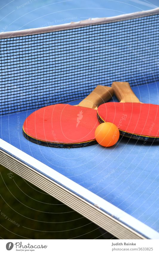 Table tennis table cut-out table tennis bat with ball Table tennis bat recreational sport competitive sports leisure activities Playing Ball sports