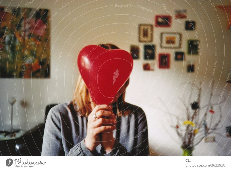Congratulations to you! Heart Balloon Birthday Red Heart-shaped Sincere Warmest congratulations Flat (apartment) Woman Decoration Love Valentine's Day