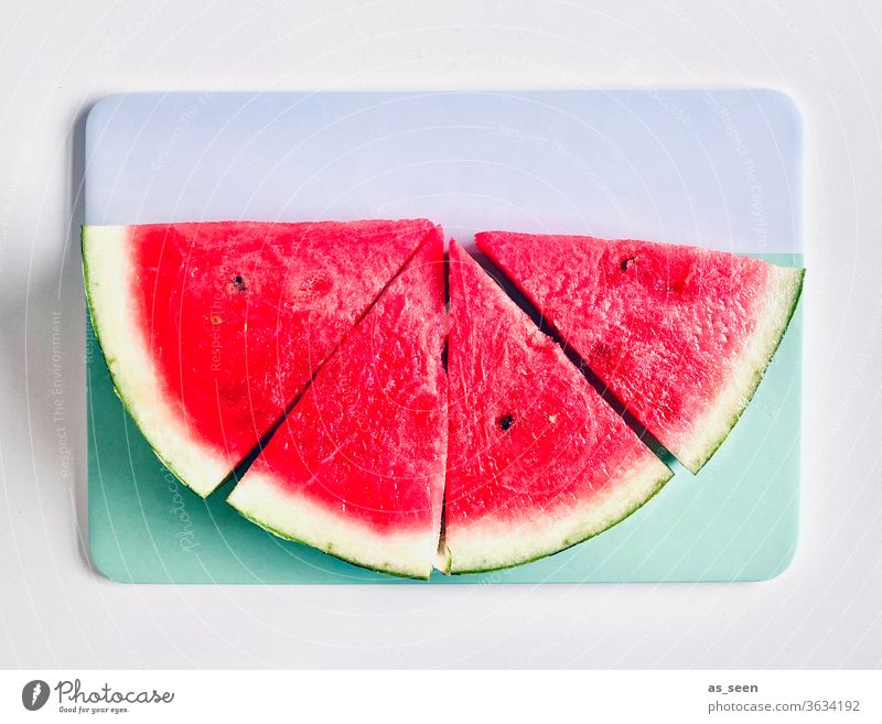 watermelon Water melon pink Pink turquoise White Fresh Summer already Delicious Sweet Kernels & Pits & Stones refreshingly Hot Derby Red Food fruit Healthy