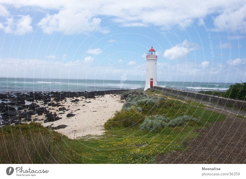 Griffith Iceland Lighthouse Loneliness Ocean Coast Waves red door Island Tower