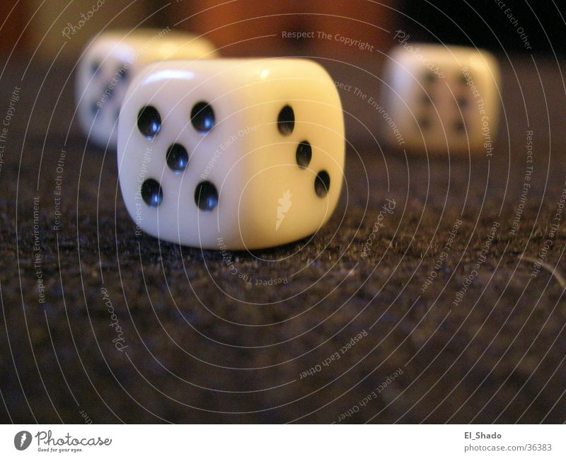 Dice Gray 3 Leisure and hobbies Digits and numbers Things 5