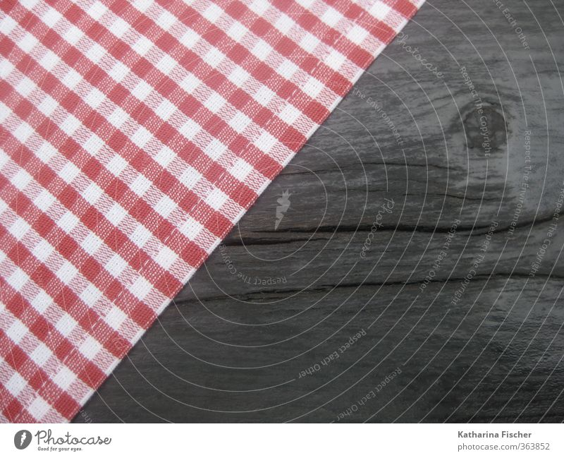 Small-minded Nutrition Feasts & Celebrations Oktoberfest Fairs & Carnivals Wood Brown Red Black White Cloth Table Tablecloth Tabletop Table decoration Checkered