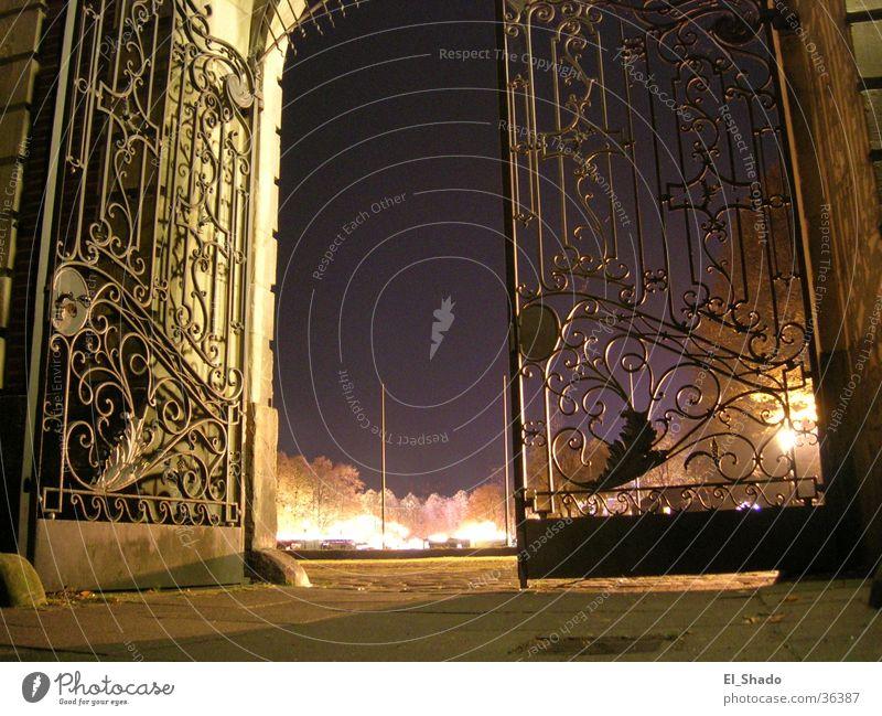 Dark Autumn Architecture Violet Castle Gate Entrance