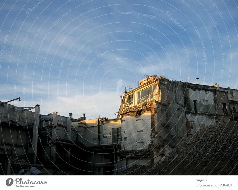 Sky City House (Residential Structure) Building Architecture Construction site Dismantling