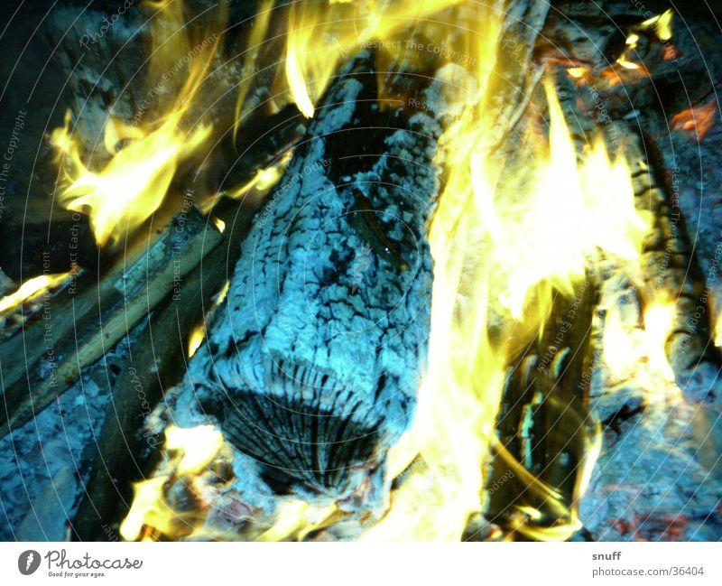 Wood Warmth Blaze Flame