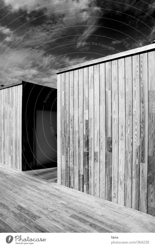 Sky Clouds House (Residential Structure) Wood Facade