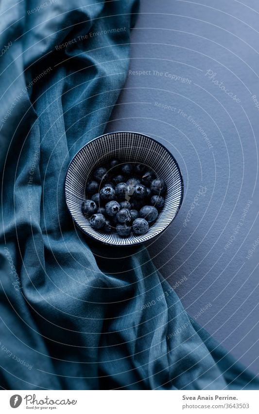 blueberries wall paint Colour natural light Eating Nutrition Healthy Food Vegan diet Food photograph Breakfast Life dwell Interior shot Cloth flat lay Collage