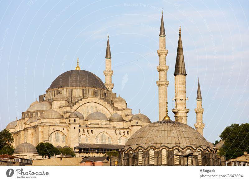 Suleymaniye Mosque in Istanbul, Turkey, Ottoman imperial mosque from 16th century. suleymaniye istanbul turkey cami mosques landmark ottoman minarets islamic