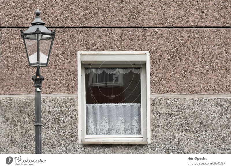 City House (Residential Structure) Window Wall (building) Architecture Wall (barrier) Building Berlin Gray Flat (apartment) Facade Idyll Authentic Gloomy Retro