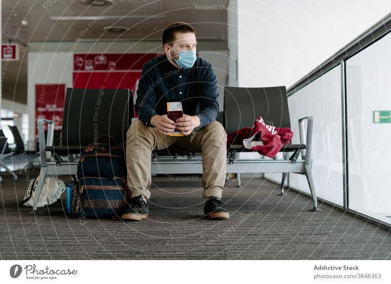 Man with Hungarian passport and boarding pass man hungarian magyar airport flight ticket wait terminal railway station trip travel journey traveler national